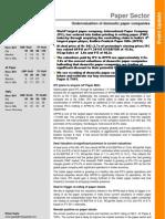 Paper Sector Update