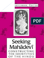 Seeking Mahadevi Constructing the Ind Entities of the Hindu Great Goddess
