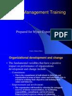 Change Management Training