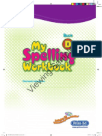 PR-2283 My Spelling Workbook D