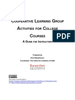 Coop Learning Activities