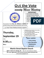 Get+Out+the+VOTE+Mass+Meeting Thursday,+Sept.+29