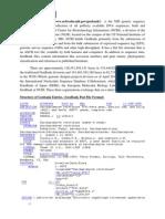 NCBI GENEBANK, bilogical data bases, bioinformatics data base
