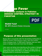 Dengue Control Strategy in Pakistan