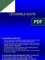 Leucemii Acute