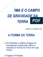 GRAVITAÇAO PROXIMA A SUP TERRA