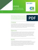 CA Automated Service Catalog