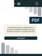 Resumen Estudio comparativo de las funcionalidades y la aplicabilidad de herramientas informáticas
