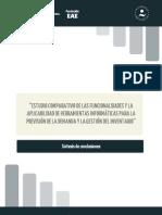 Sintesis del Estudio comparativo de las funcionalidades y la aplicabilidad de herramientas informáticas