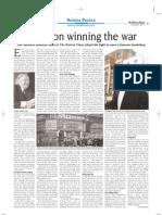 Foyle on winning the war