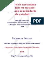 Philippe Perrenoud O Papeldaescola