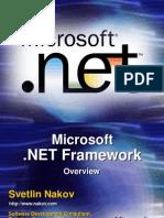 Nakov DotNET Framework Overview English