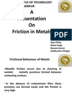 Friction in Metals Added Version