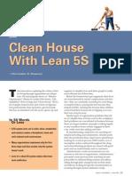 Lean Clean 5S
