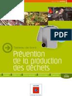 ADEME_Prevention de la production des déchets