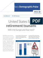 United States face retirement Tsunami- Will it hit Europe and Asia next?