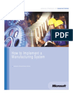 AMR Implementing Manufacturing