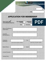 IFSSO Application Form
