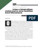 Trajetórias e biografias- Miguel Angelo Montagner(www.scielo.brpdfsocn17a10n17.pdf) acesso em 20 09 2011