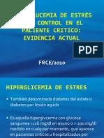 Hiperglucemia de Estres y Su Control Con Insulina
