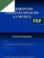 ELEMENTOS CONSTITUTIVOS DE LA MÚSICA