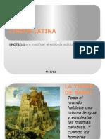 Lingua Latina_lectio Prima