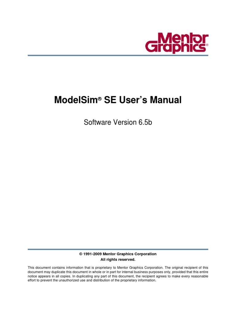 Modelsim systemverilog option