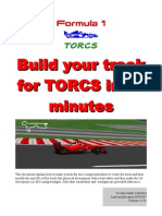 Build Your Torcs Track in 20 Minutes