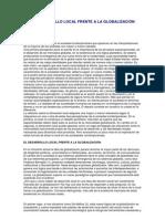 El Desarrollo Local Frente a La Globalizacion Arocena[1]
