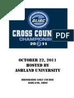 2011 GLIAC Cross Championship Manual