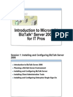 01 - En - CK - Introduction to Microsoft BizTalk Server 2006 for IT Pros [Compatibility Mode]