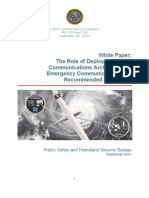 The Role of Deployable Aerial Communications Architecture in Emergency Communications and Recommended Next Steps