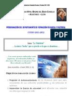 Programación del Dpto. de Pastoral 2011-2012