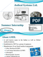 AMSL Summer Internship