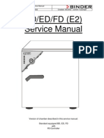 Binder BD-ED-FD - Service Manual