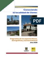Conociendo La Localidad Usme - SDP 2009