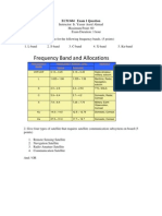 Exam 1 Question ECM 604 Answer