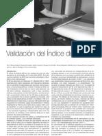 Validacion Del Indice
