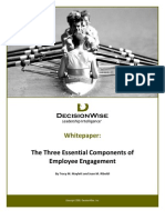 Decision Wise Whitepaper 3 Essential Components of Employee Engagemen