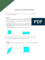 Integrales Dobles y Triples Ejercicios