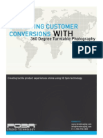 Enhancing Customer Conversions with 360 Degree Turntable Photography