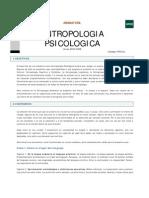 Psicologia Antropologica