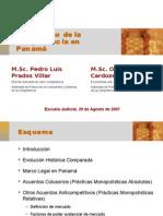 Derecho de La cia en Panamá (Poder Judicial-Ago-07)