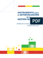 Evaluacion Gestion Municipal
