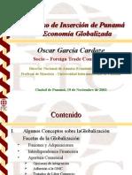 Inserción de Panamá a La Economía Globalizada