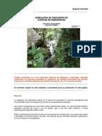 Hidrología de crecientes en cuencas no homogéneas