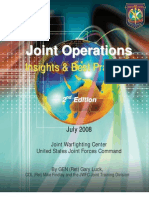 Joint Operations Insights and Best Practices, 2nd Edition, July 2008