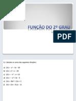 Funcao do 2o Grau - Exercicios Resolvidos (PDF)