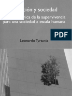 Evolucion y Sociedad, Leonardo Tyrtania