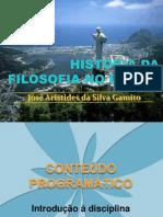 História da Filosofia no Brasil - 2011